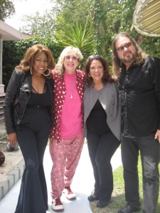 Mary Wilson (Supremes), Allee Willis, Diane and Kenny Lee