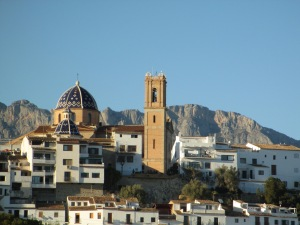 Iconic View of Altea