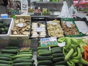 Vegetables at Central Market