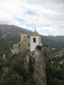 Iconic Guadalest bell tower