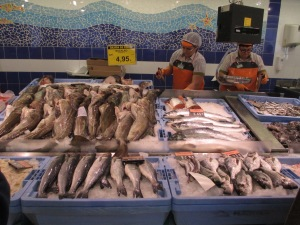 fresh fish and fishmongers