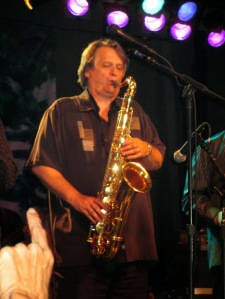Danny Pelfrey playing with Tower of Power
