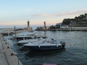 One of the water sports marinas in Altea
