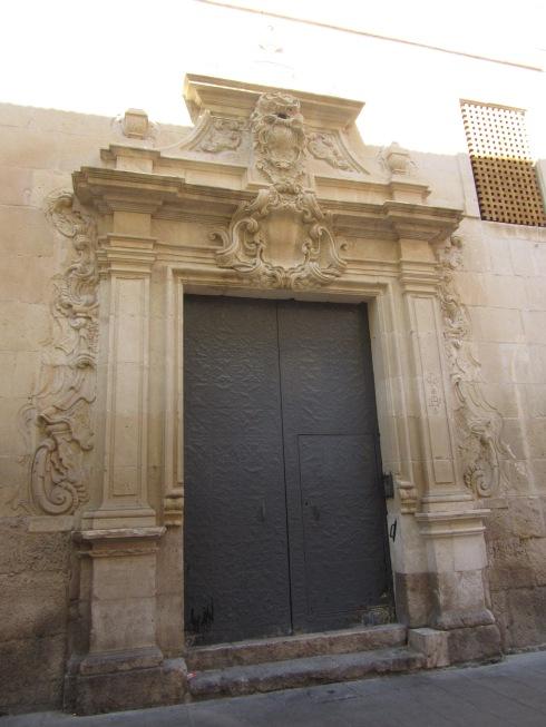 Decorative historic door